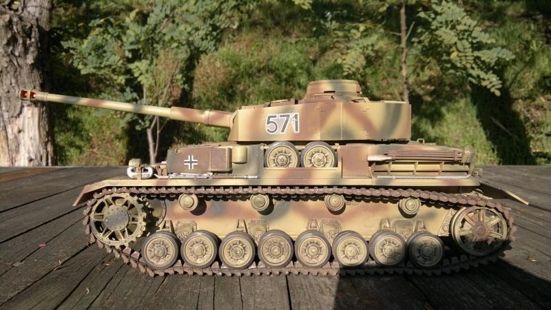 Panzer IV Tamiya in arrivo; mio primo carro 23102011