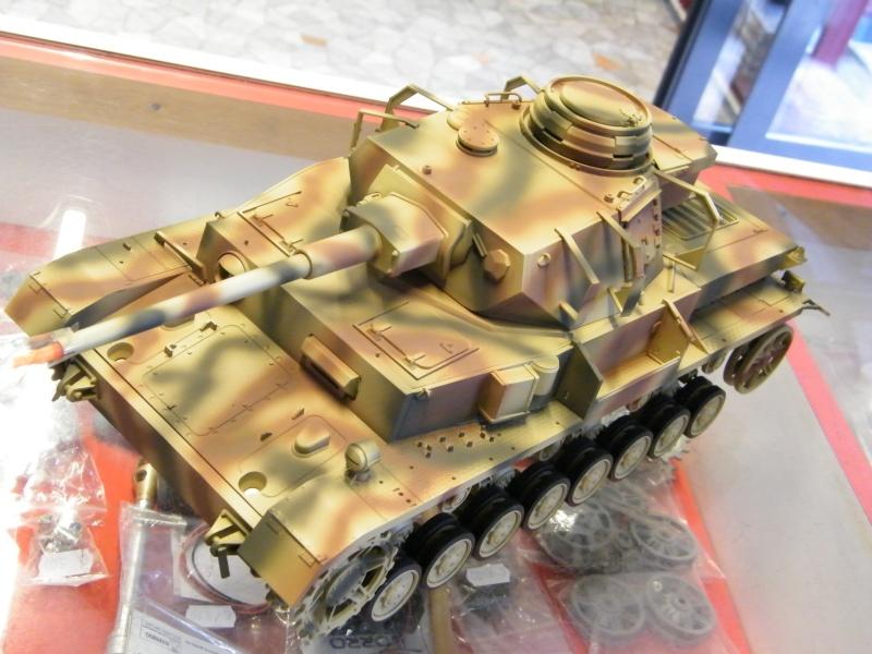 Panzer IV Tamiya in arrivo; mio primo carro Panzer11