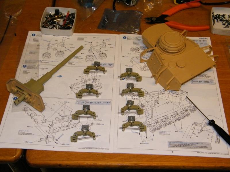 Panzer IV Tamiya in arrivo; mio primo carro Panzer13