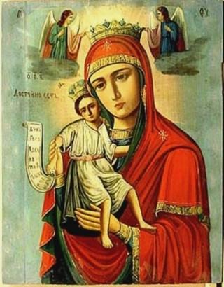 Qu'elle est belle NOTRE-DAME ! (icônes orthodoxes de la Vierge Marie et l'Enfant Jésus) A13