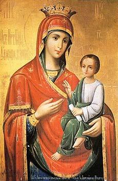Qu'elle est belle NOTRE-DAME ! (icônes orthodoxes de la Vierge Marie et l'Enfant Jésus) Aaa10