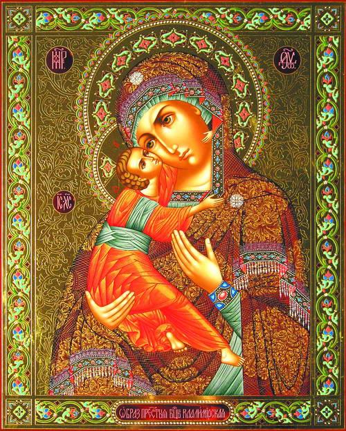 Qu'elle est belle NOTRE-DAME ! (icônes orthodoxes de la Vierge Marie et l'Enfant Jésus) Aaa15