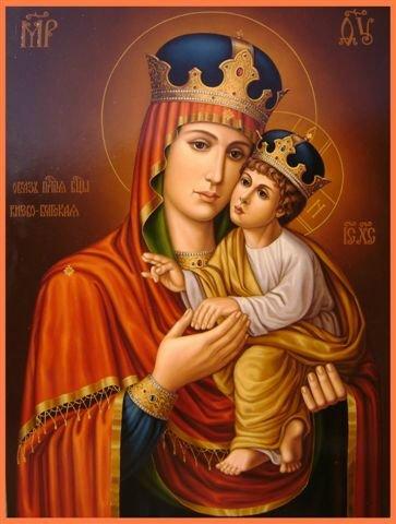 Qu'elle est belle NOTRE-DAME ! (icônes orthodoxes de la Vierge Marie et l'Enfant Jésus) Bbb13