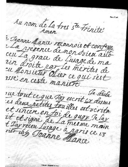 Vie de Mlle Mance et Hôtel-Dieu de Villemarie (Table)  COMPLET - Page 4 Captur32