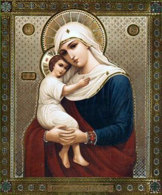 Qu'elle est belle NOTRE-DAME ! (icônes orthodoxes de la Vierge Marie et l'Enfant Jésus) Ccc13