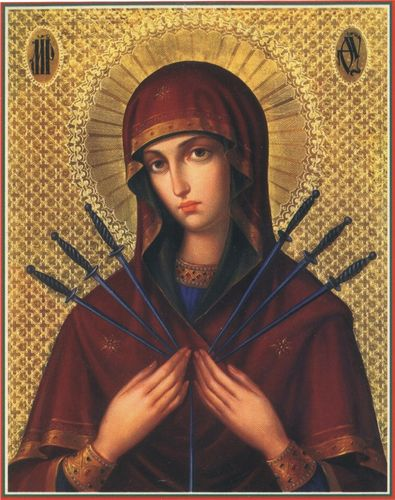 Qu'elle est belle NOTRE-DAME ! (icônes orthodoxes de la Vierge Marie et l'Enfant Jésus) S10