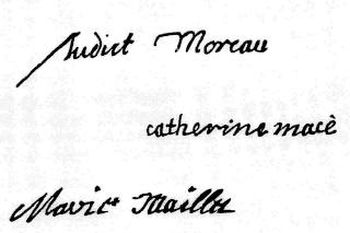 Vie de Mlle Mance et Hôtel-Dieu de Villemarie (Table)  COMPLET - Page 5 Signat11
