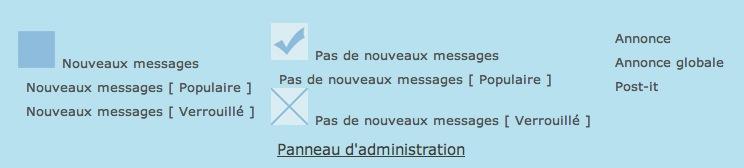 Supprimer les libellés des icônes de bas de page des forums Capt_310