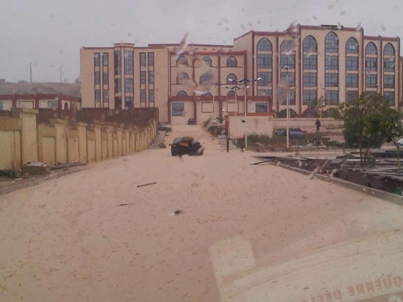 Pluies torrentielles  à SAIDA Inodat10