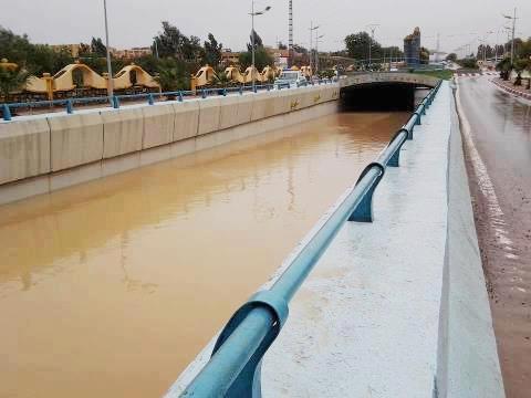 Pluies torrentielles  à SAIDA Tremie10