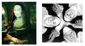 Juxtapositions oulipiennes d'images - Poésie des contrastes _soeur10