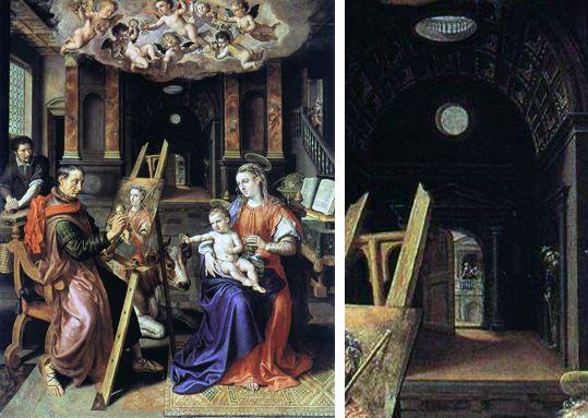 St Luc peignant la Vierge A762110