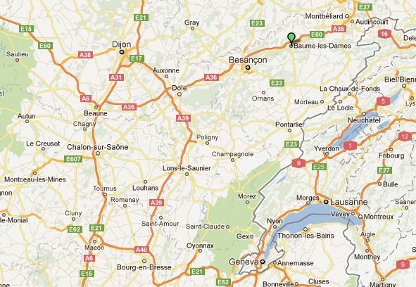 Baume les Dames en Franche Comté Baumel10