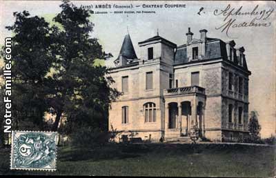 Ambès, entre Garonne et Gironde Cartes10