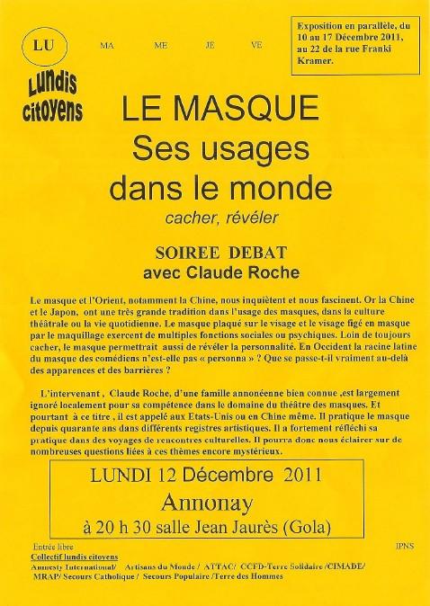 Masques par Claude Roche Claude18