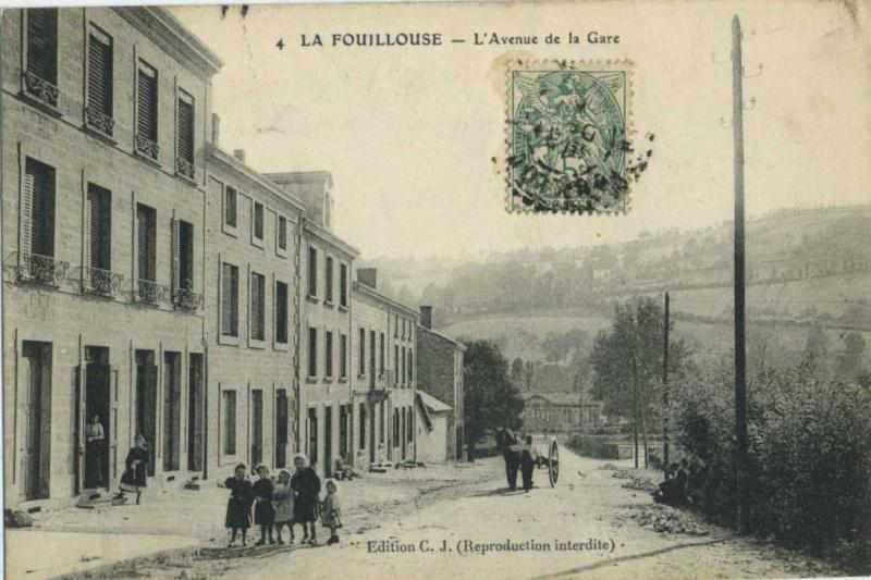 La Fouillouse près de St Etienne, et le chocolat Cpaven10
