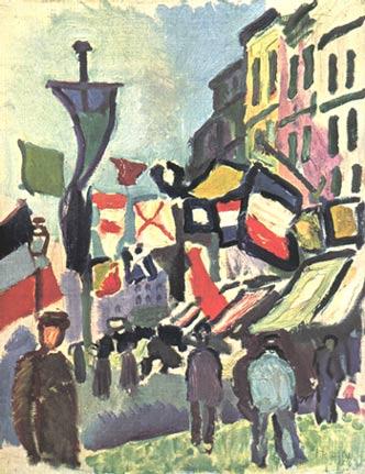 La peinture moderne - Maurice Raynal - 1953 - SKIRA Dufy1410