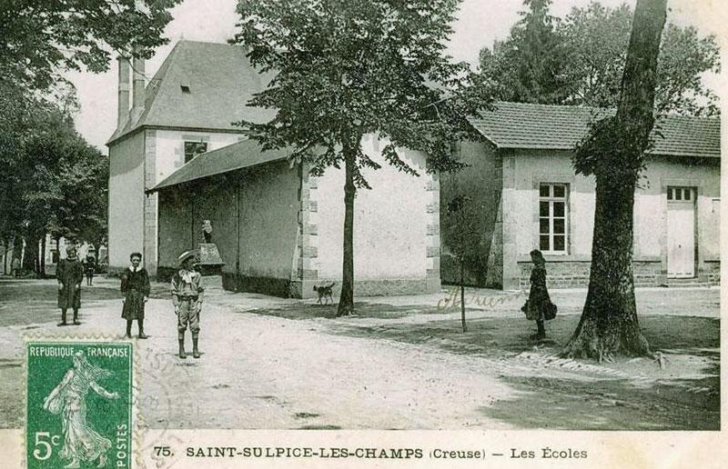 Mardi 27 décembre 2011 - Mon nom est Personne - entre St Georges la Pouge et St Sulpice les champs Ecole_10
