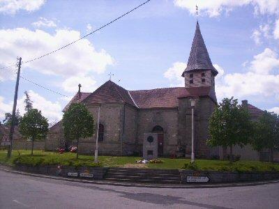 Mardi 27 décembre 2011 - Mon nom est Personne - entre St Georges la Pouge et St Sulpice les champs Eglise10