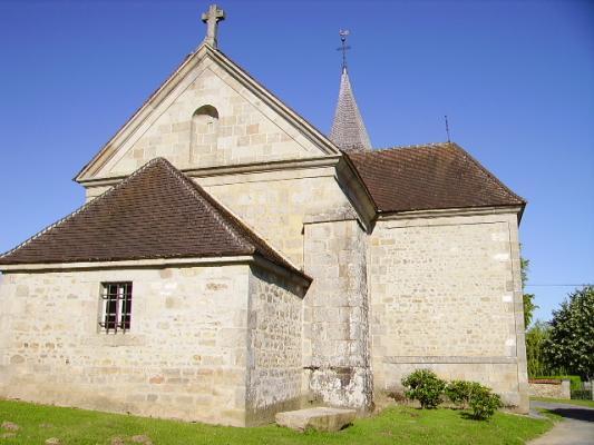 Mardi 27 décembre 2011 - Mon nom est Personne - entre St Georges la Pouge et St Sulpice les champs Eglise14