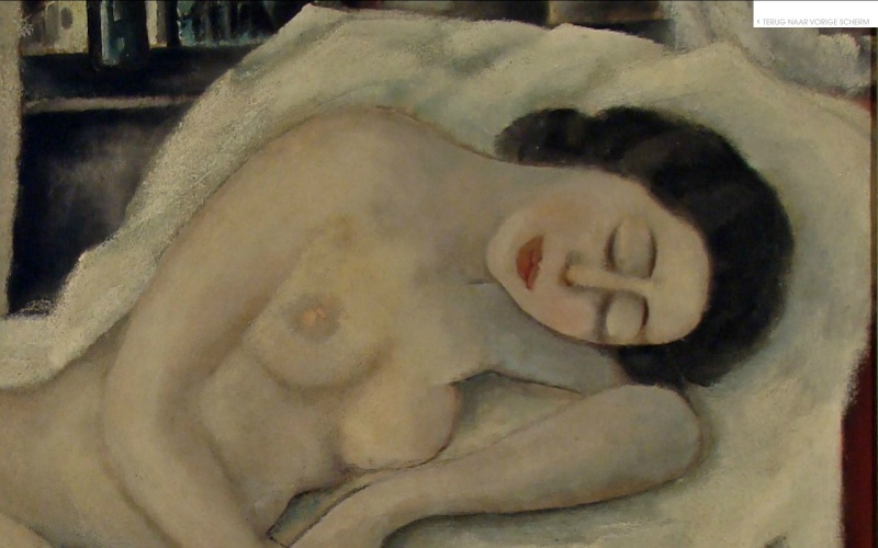 la plus belle peinture hollandaise de femme nue Elsebe10