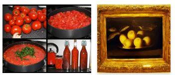 Juxtapositions oulipiennes d'images - Poésie des contrastes Fruits10