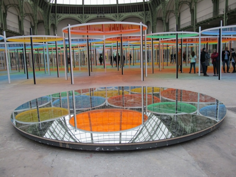 Daniel Buren - Monumenta 2012 - Grand Palais Img_1010