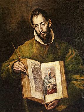 St Luc peignant la Vierge Le-gre10