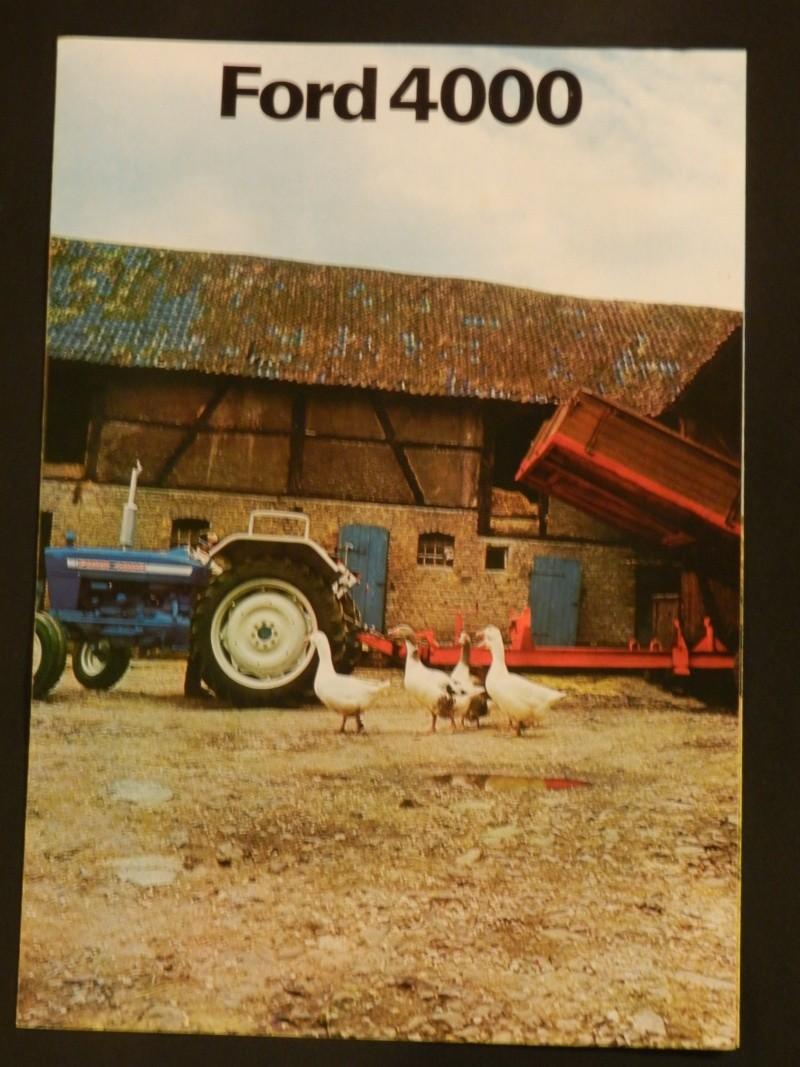 Tracteur FORD 4000 bleu Legran27