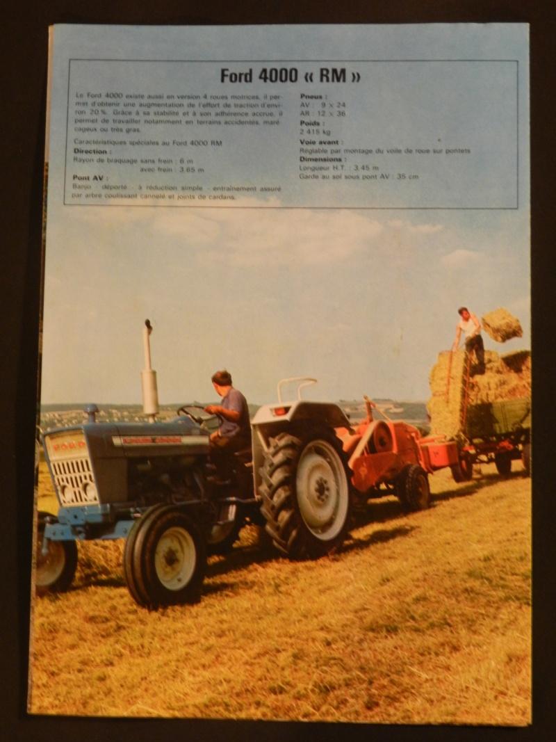 Tracteur FORD 4000 bleu Legran28