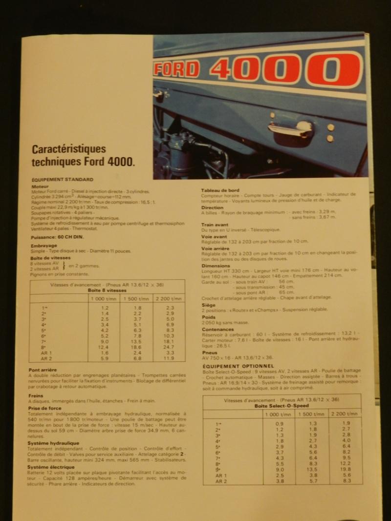 Tracteur FORD 4000 bleu Legran30