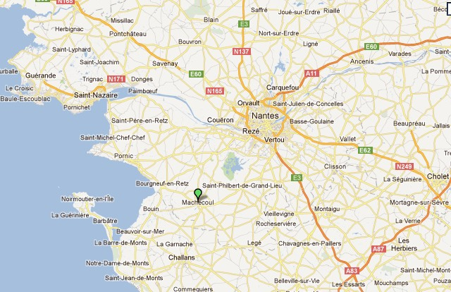 Machecoul vers Nantes chez Gilles de Rais Machec10