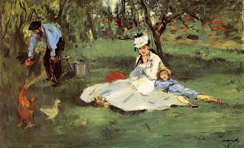 Monet par Pascal Bonafoux Manet_11