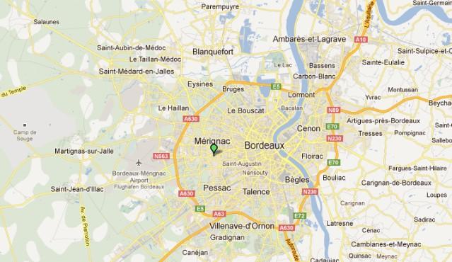 Mérignac, banlieue de Bordeaux Marign10