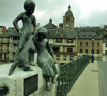 Saint Geniez d'Olt (Aveyron) visité sur le Web Marmot10