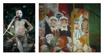 Juxtapositions oulipiennes d'images - Poésie des contrastes Masqua10