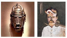 Juxtapositions oulipiennes d'images - Poésie des contrastes Masque11