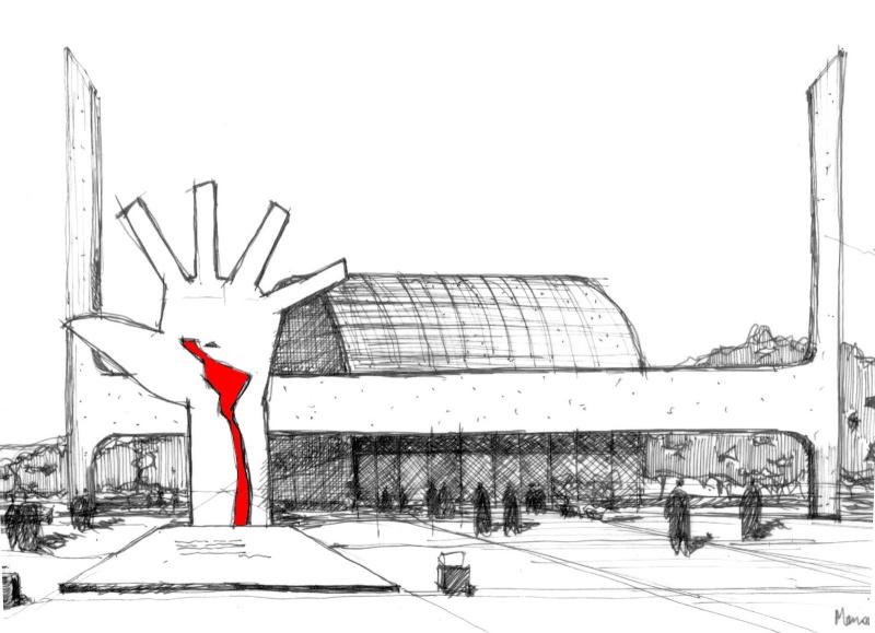 Décès d'Oscar Niemeyer Memori12