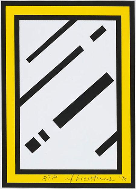 Roy Lichtenstein Mirror10