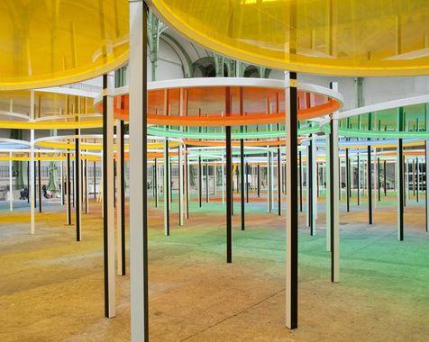 Daniel Buren - Monumenta 2012 - Grand Palais Monume12