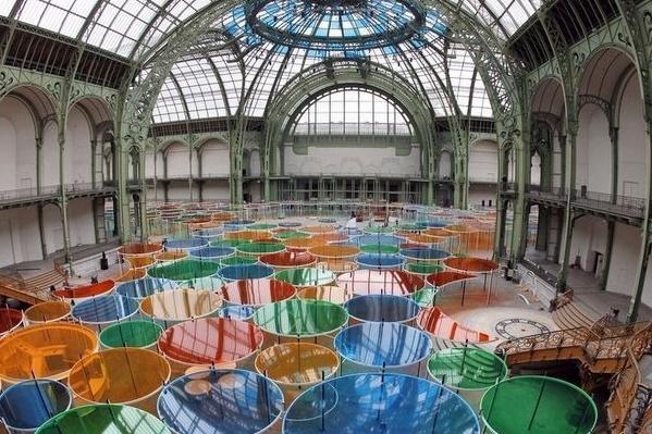 Daniel Buren - Monumenta 2012 - Grand Palais Monume13