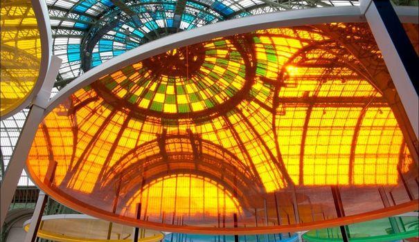 Daniel Buren - Monumenta 2012 - Grand Palais Monume14