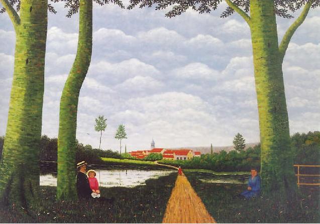 Camille Bombois 1883-1970 Paysag11