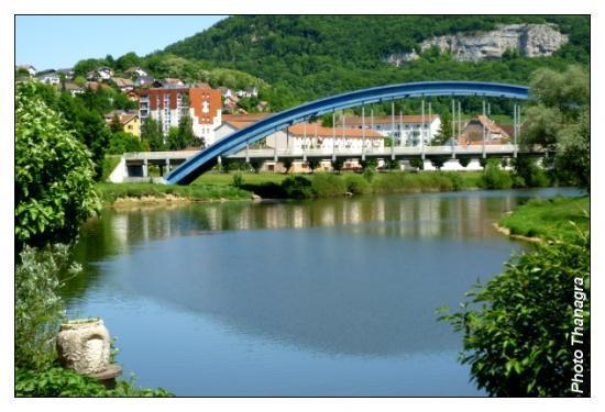 Baume les Dames en Franche Comté Pont_b10