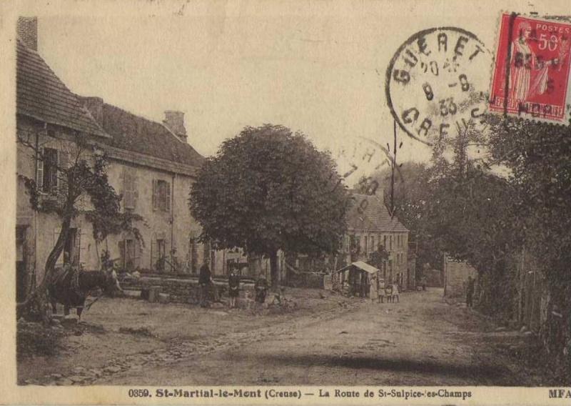 Mardi 27 décembre 2011 - Mon nom est Personne - entre St Georges la Pouge et St Sulpice les champs Route_11