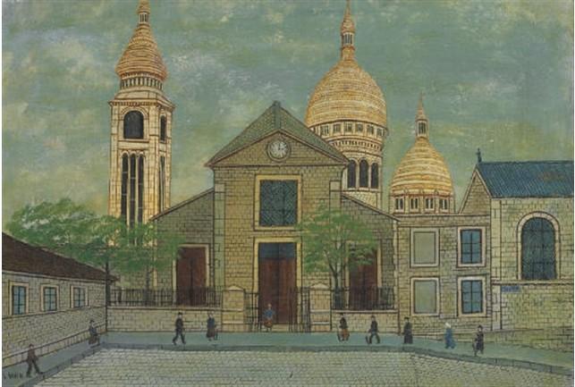 Louis Vivin (1861, 1936) Sacrac10