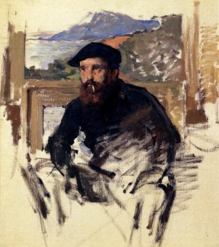 Monet par Pascal Bonafoux Self_p10