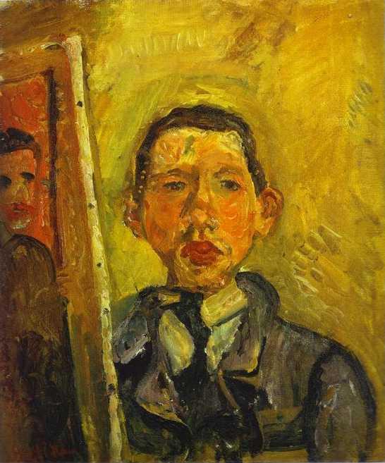 Autoportrait, image de l'intérieur Soutin10