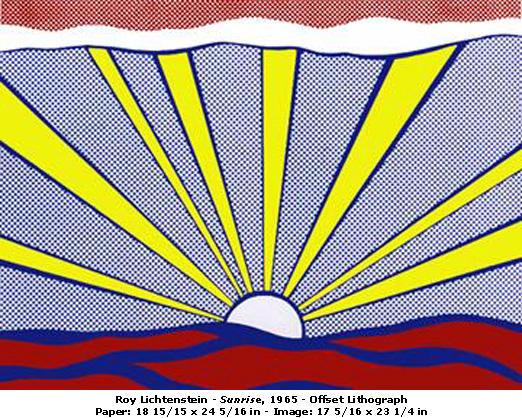 Roy Lichtenstein Sunris11