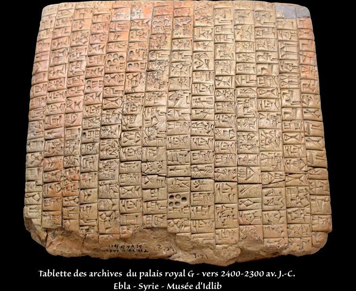 Esthétique des tablettes d'argile Tablet11